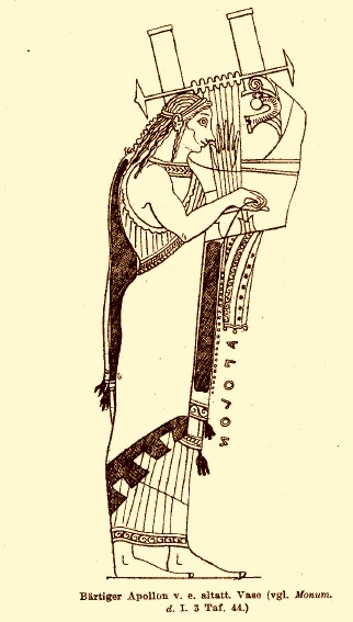 Apollo with lyre