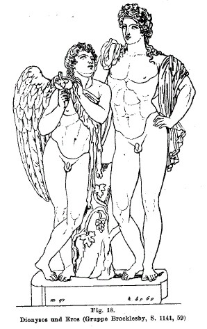 Dionysos and Eros