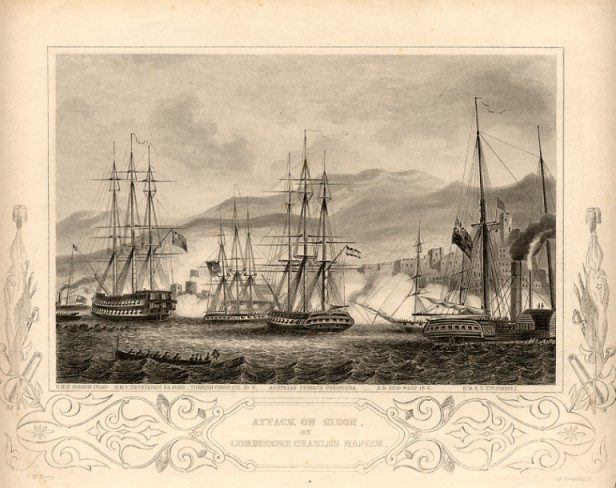 Sea battle 1840